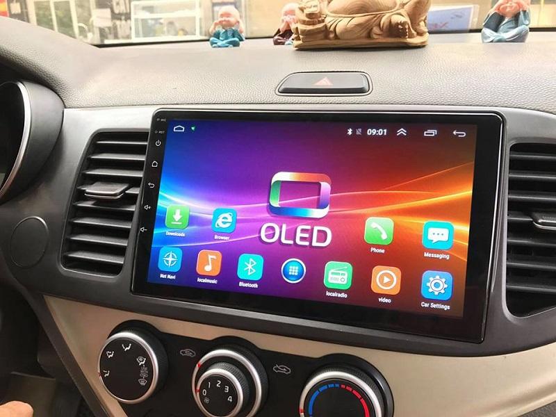 Đầu DVD Android xe hơi chạy lắp sim 4G